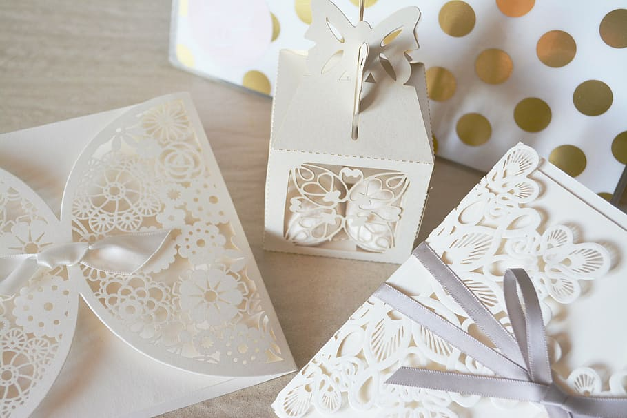 Tarjetas de invitación para bodas